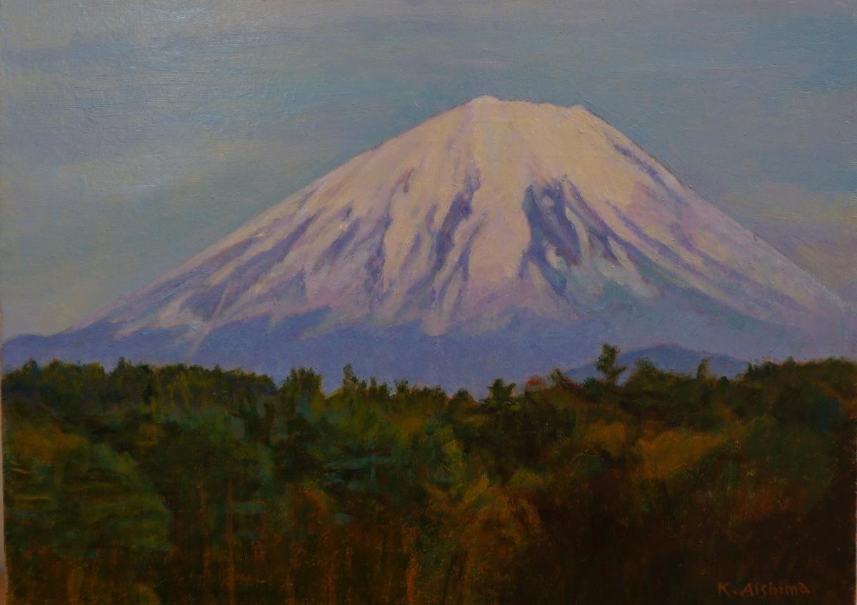 相島謙次郎・あいしまたかこ 油彩画展<br /> - 富士山と安曇野四季折々 -<br />