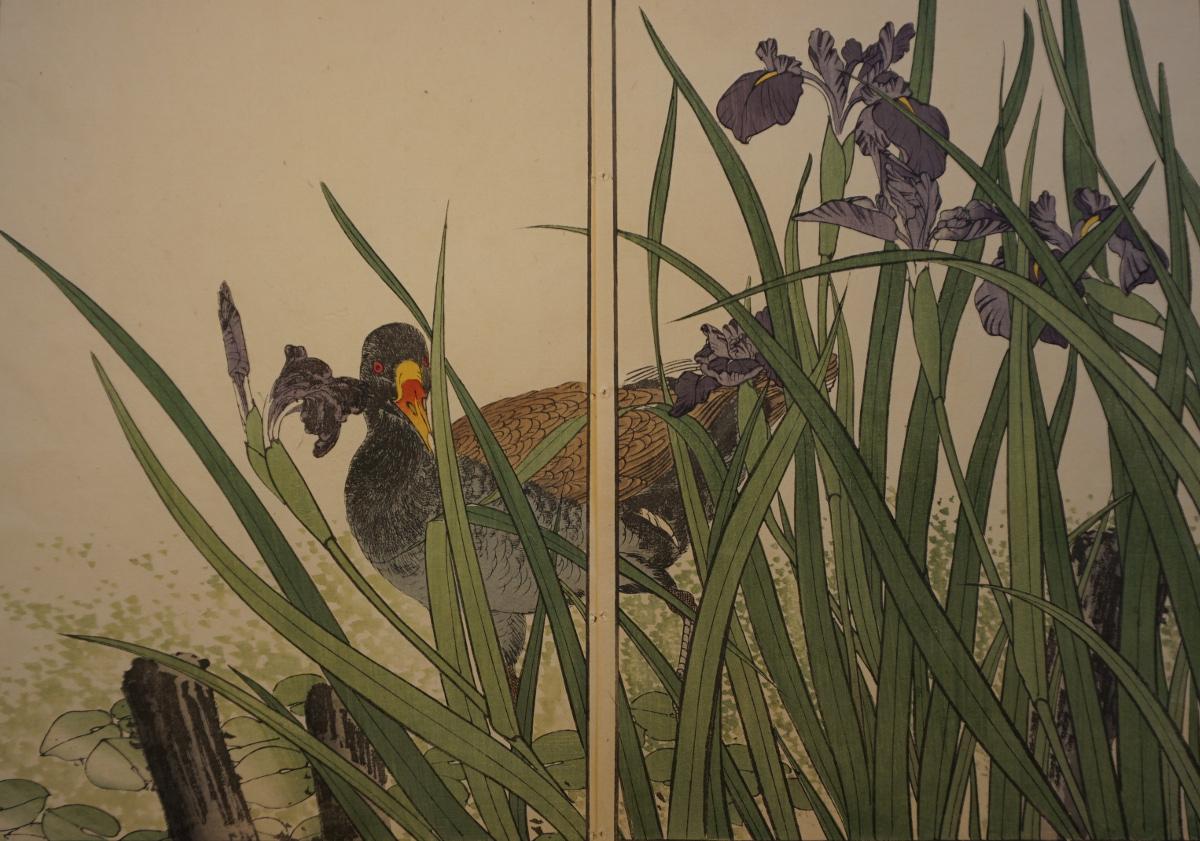 日本の版画 - 鳥 -<br />