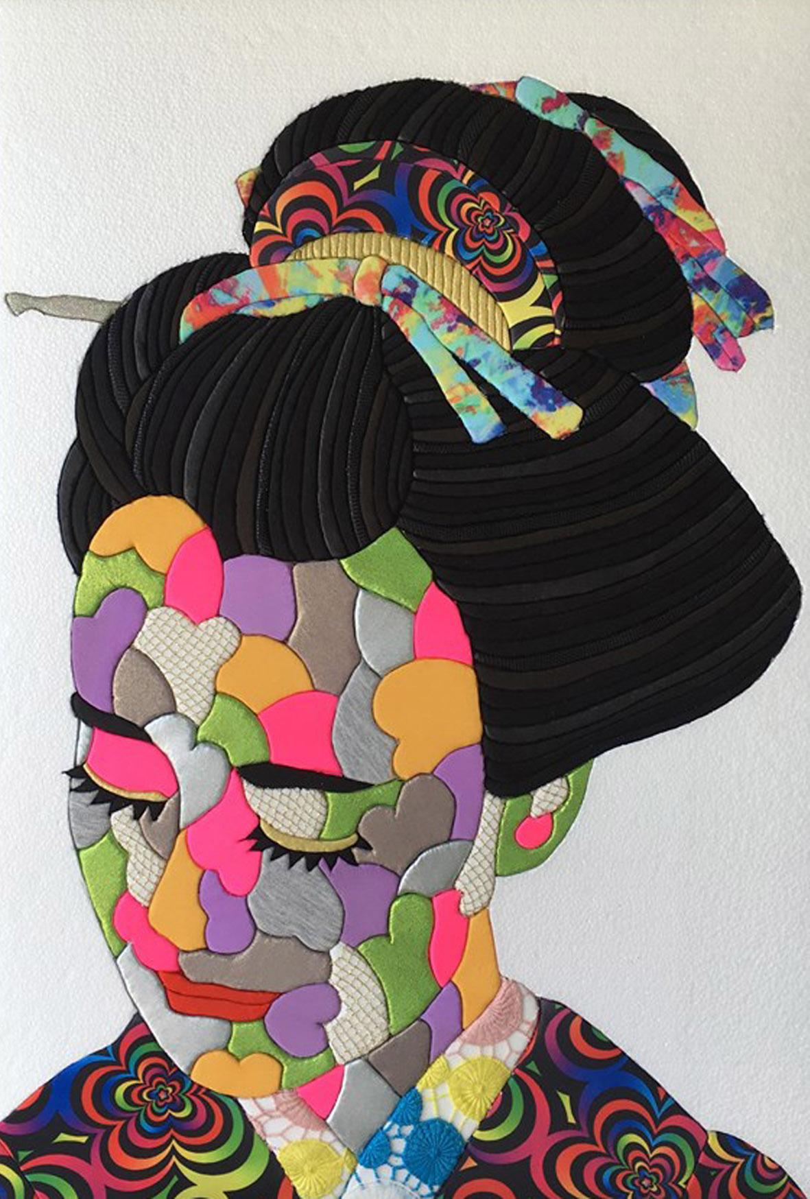 ASAKO IWAMIZU SoloExhibition「JET BLACK HAIR」